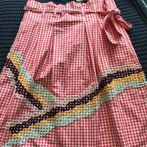 NWT | ANTHROPOLOGIE | high waisted skirt